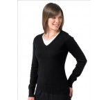 710F.03.0 - Russell•LADIES V NECK KNITTED PULLOVER