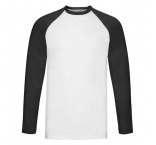 F770306 - F77•Valueweight Long Sleeve Baseball T