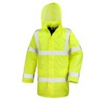 R218X0906 - Result•HIGH VIZ MOTORWAY COAT