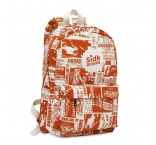 MB4031 - All over printed Polycotton backpack. Min 500 pcs