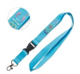 ML1041 - 3D printed lanyard with buckle. Min 100 pcs
